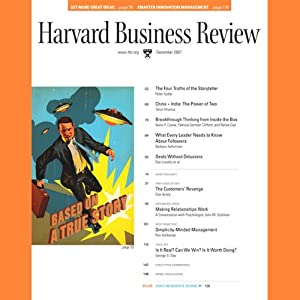 Harvard Business Review, December 2007 Periodical