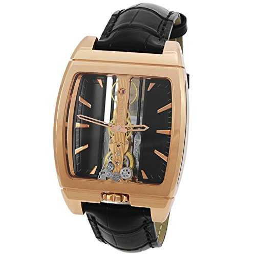 Corum Golden Bridge 18 K Or Rose manuel Vent Montre pour hommes 313.150.55/0001 fn02