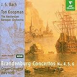 J.S. Bach - Brandenburg Concertos Nos. 4,5,6 & Organ Concerto