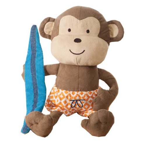 Carter's® Laguna Monkey Plush Toy - 1