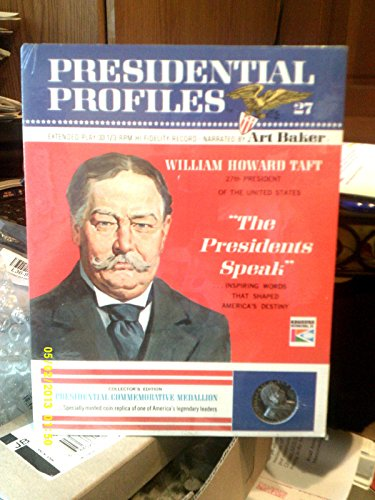 1966 PRESIDENTIAL PROFILE WILLIAM HOWARD TAFT RECORD COMMEMORATIVE MEDALLION NEW (William Howard Taft Profiles Of compare prices)