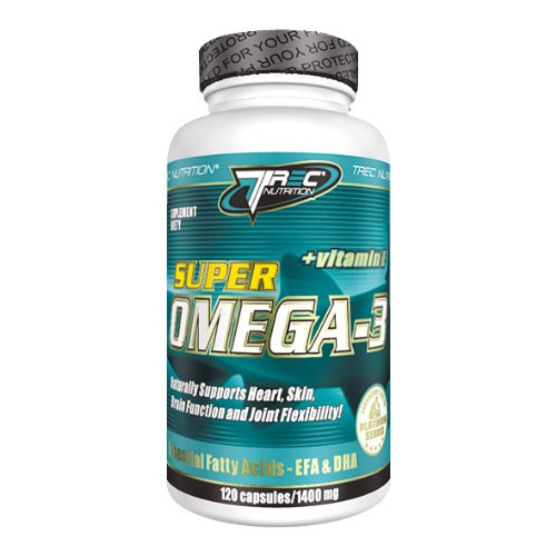 Super Omega 3 - The best Omega 3 Fish Oil Capsules (120 Caps)