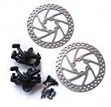 Tektro F+R IO Disc Brake Rotor Caliper Mountain Bike