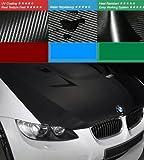 3D Designfolie Carbon STRUKTUR FÜHLBAR / KLEBEFOLIE FOLIE Stärke