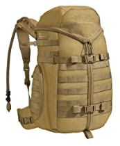 Camelbak Tri Zip Hydration Cargo Pack Coyote Nsulated Pureflow Tube Futura Harness 500d Cordura