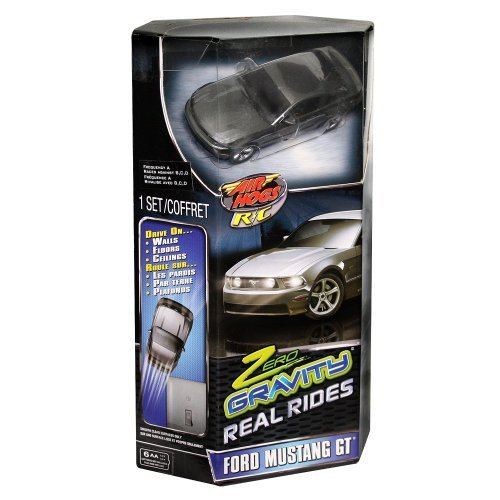 Air Hogs Nano Zero Gravity Real Rides - Grey Mustang GT