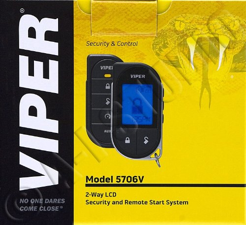 Viper 5706V 2-way Security System w/Remote