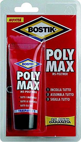 ADESIVO POLY MAX g 115 CRISTAL BOSTIK [BOSTIK ]