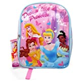 Disney Princess 15 Girls Backpack School Bag