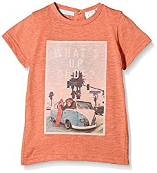 Pumpkin Patch Baby Boys' T-Shirt (S5TB11042_Sunset Orange_2)