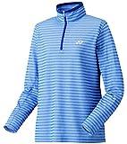 (ヨネックス)YONEX WOMEN スムースハーフジップシャツ(スタンダードサイズ) 38040 112 ダークブルー L