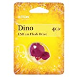 TDK Dinosaur USB 2.0 Flash Drive 4 GB