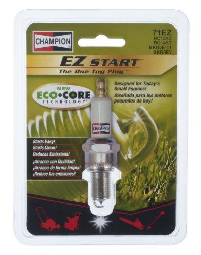 Champion (71Ez) Ez Start Eco Core Iridium Spark Plug, Pack Of 1