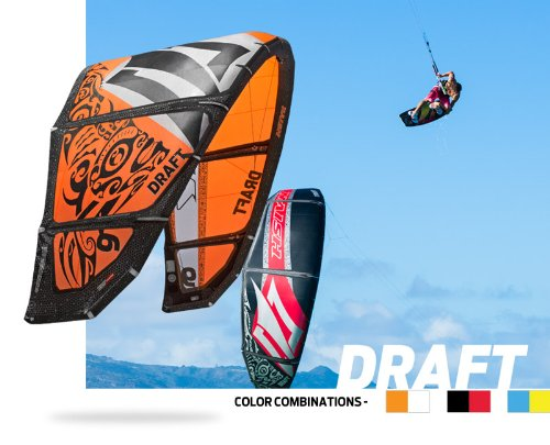 2014 Draft 12.0 Kite Only -Blue (Order From Website If Not In Stock - Kite Force Academy)