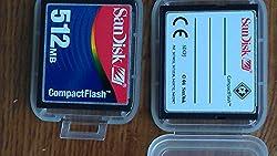 Sandisk CF 512MB (Compact Flash) Card SDCFJ-512