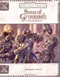 Sons of Gruumsh (Dungeons & Dragons d20 3.5 Fantasy Roleplaying, Forgotten Realms 4th-Level Adventure (0786936983) by Perkins, Christopher