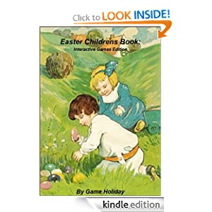 Easter Childrens Book: Interactive Games Edition