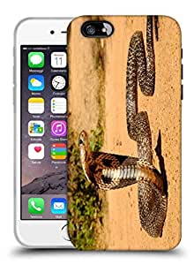 Snoogg Cobra Designer Protective Back Case Cover For IPHONE 6 PLUS