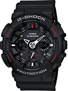 Casio G-Shock Watches GA120-1A BLACK BLACK