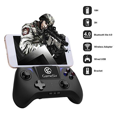 GameSir G2u Wireless Game Controller Gamepad Joypad, Joystick Senza Fili - Compatibile per Android / PC (Windows) - Collegato da Bluetooth / 2.4GHz