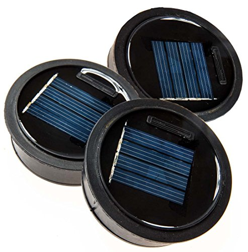Outdoor Solar Lights Parts: Solar Mason Jar Lid Insert