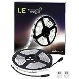 LE-Waterproof-12V-Flexible-LED-Strip-Lights-6000K-Daylight-White-150-Units-SMD-5050-LEDs-110-Lumensft-22-wattsft-12-Volt-LED-Light-Strips-Pack-of-164ft5m