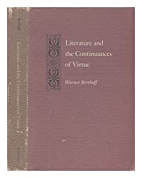 Literature and the Continuances of Virtue (Princeton Legacy Library) download ebook
