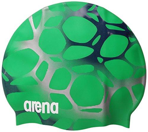 Arena Stampa Berretto - Cuffia piscina con pressione - verde