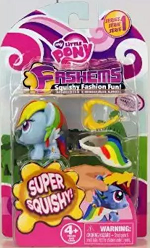 My Little Pony Rainbow Dash Fash'ems Squishy Fashion Series 2 - 1