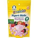 Gerber Graduates Yogurt Melts, Mixed Berry, 1 Ounce (Pack of 7)