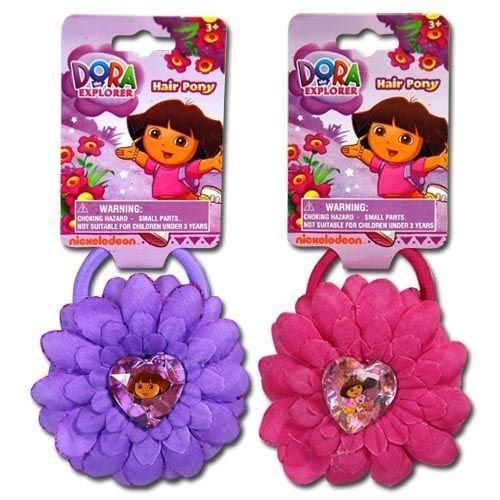 Dora Flower Elastic with Gem Charm - 1