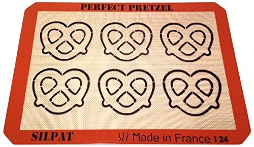 Silpat AE420295-21 Perfect Pretzel Baking Sheet (Pretzel Pan compare prices)