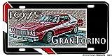 1975 Ford Gran Torino Aluminum License Plate - Starsky and Hutch