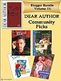 Blogger Bundle IX: Dear Author Community Picks