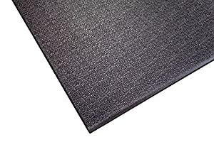 Supermats Heavy Duty P.V.C. Mat Ideal for Spinning Bkies (24-Inch x 46-Inch)