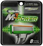 Gillette M3 Power Cartridges 8 Count