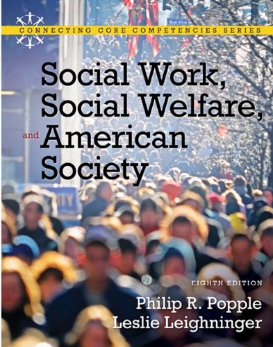 Social Work, Social Welfare and American Society (8th...