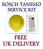 BOSCH TASSIMO COFFEE MACHINE SERVICE KIT DESCALER TABLETS & T CLEANING DISC