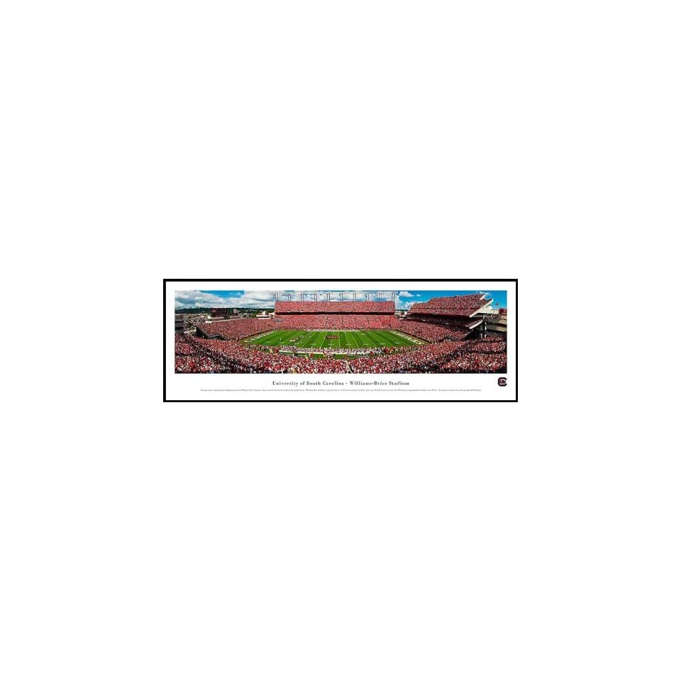 South Carolina Gamecocks   Williams Brice Stadium   Wood Mounted Poster Print