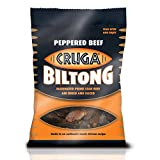 Cruga Beef Biltong Peppered 25g