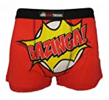 The Big Bang Theory Herren 1 Paar Boxershorts Trunks Größe XL