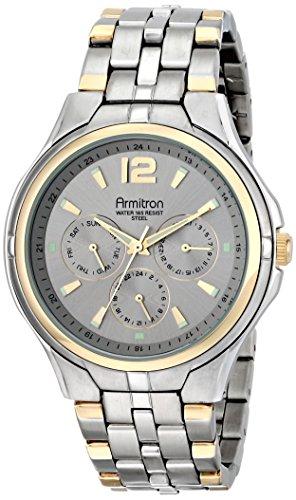 armitron-uomo-20-4966svtt-multifunzione-grigio-sunray-quadrante-bicolore-bracciale-orologio