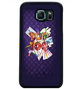 PrintDhaba Quote D-3769 Back Case Cover for SAMSUNG GALAXY S6 (Multi-Coloured)