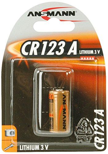 Ansmann rechange au lithium cR123A