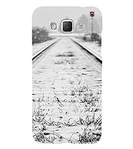 PrintVisa Travel Tracks Snow Design 3D Hard Polycarbonate Designer Back Case Cover for Samsung Galaxy Grand MAX