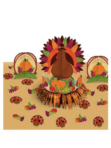 Thanksgiving Fringe Table Decorating Kit