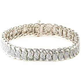 Labor Day Sale: $29.99 1/10 cttw Diamond Bracelet