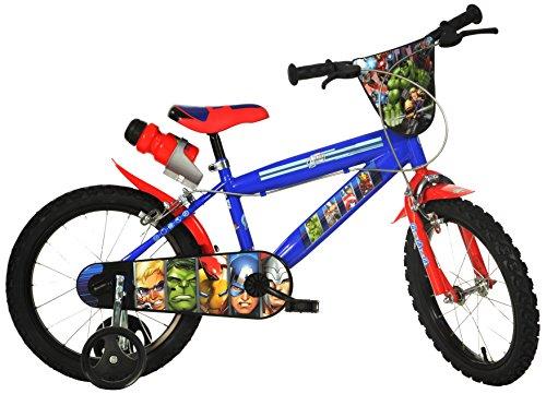 Dino 416UL-AV - Bicicletta per Bambino Captain America