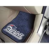 New England Patriots NFL Car Floor Mats (2 Front)