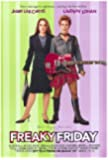 Freaky Friday Movie Poster (27 x 40 Inches - 69cm x 102cm) (2003) -(Jamie Lee Curtis)(Lindsay Lohan)(Harold Gould (I))(Janet Choi)(Chad Murray)(Mark Harmon)